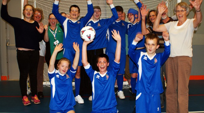 Hereford Lads Club re-launch Inclusive Football