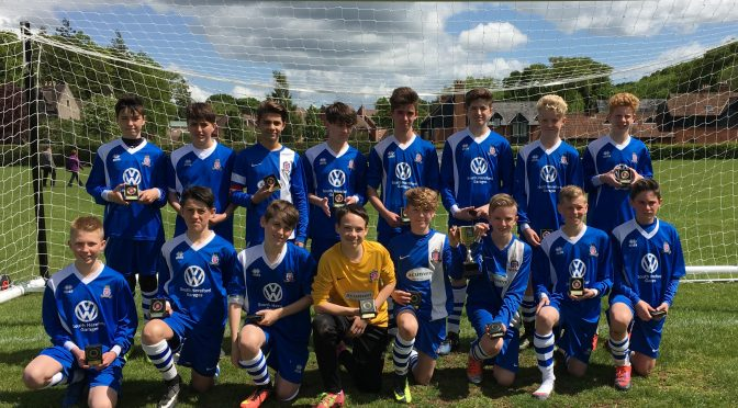 Terriers win RS Engraving Cup