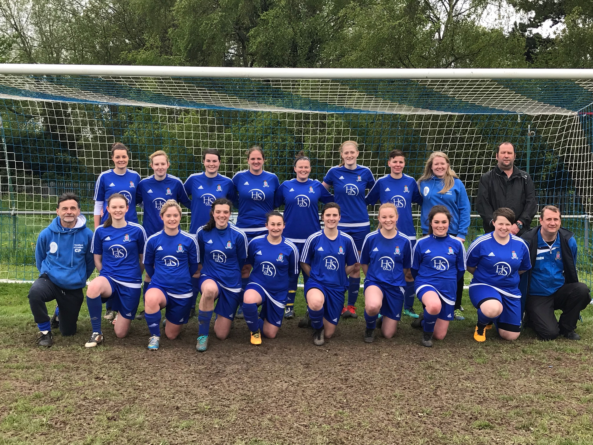 Hereford Lads Club Ladies 2018