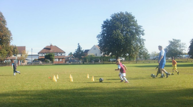 Football for 5-6 Year Olds (School R1/2 & Year 1)