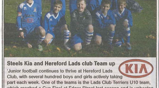 Terriers in the Hereford Times